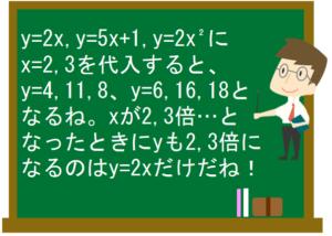 比例と反比例7