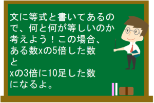 文字の式20